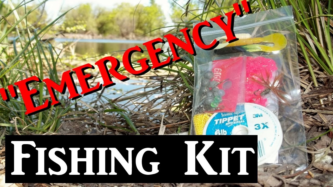 Emergency fishing kit for survival backpacking edc bug for Backpacking fishing kit