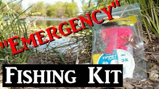 Emergency Fishing Kit (for Survival, Backpacking, Edc, Bug Out Bag)
