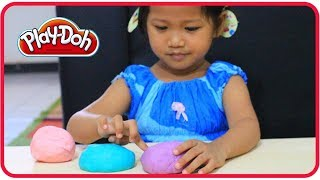 Cara Membuat Playdough Sendiri Dari TEPUNG.🎨 DIY Mainan Anak