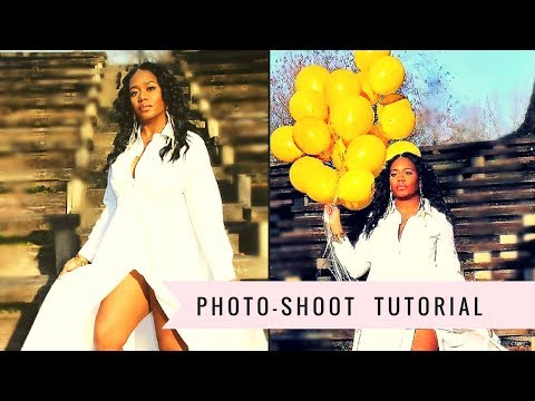 How To Photograph Yourself 📷diy Photo Shoot For Instagram
