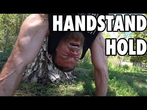 How To Perform Handstand Holds - Bodyweight Exercise Tutorial