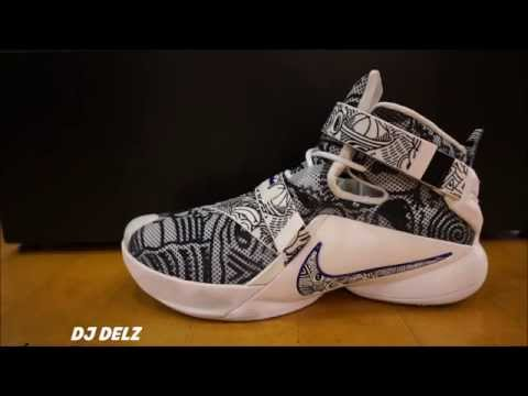 Nike Lebron Soldier 9 Freegum Shoe Review With Dj Delz