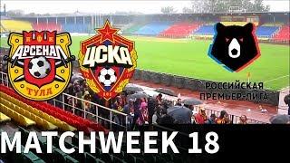 Arsenal Tula vs CSKA Moscow - 2018-19 Russian Premier League - PES 2019