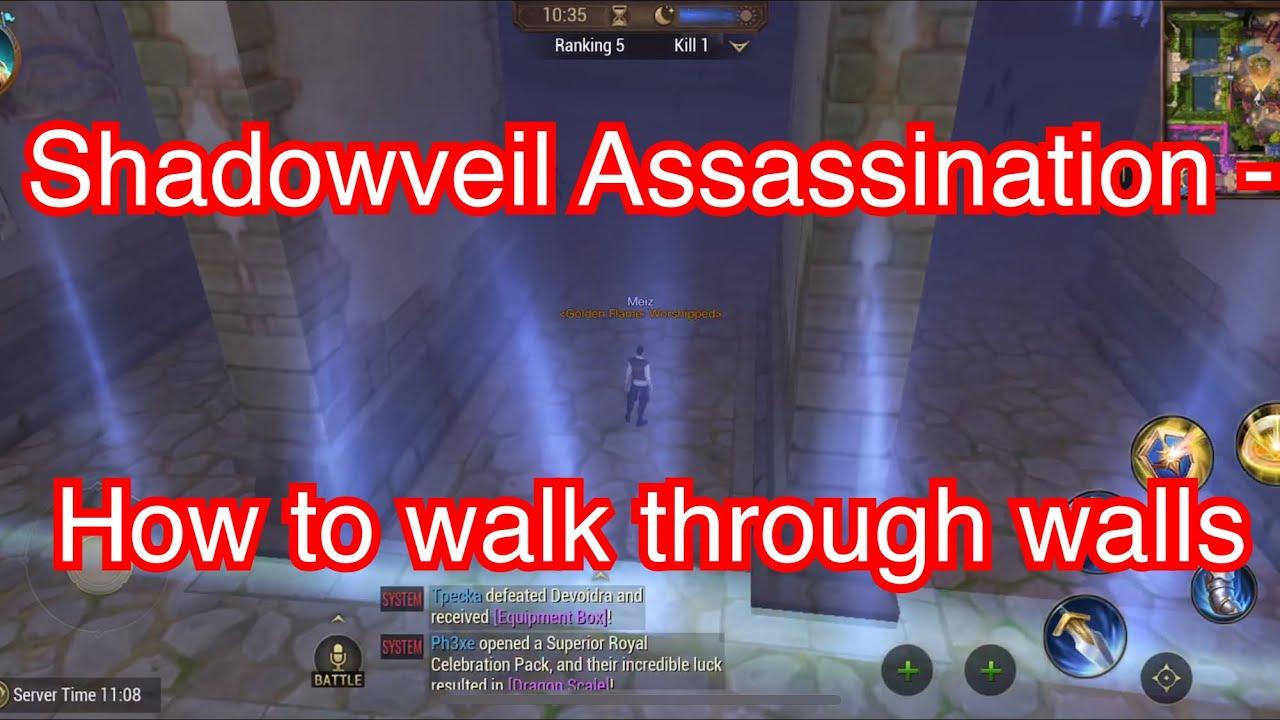 """""""WALL HACK"""" BUG Found in Shadowveil Assassination - CoL"""