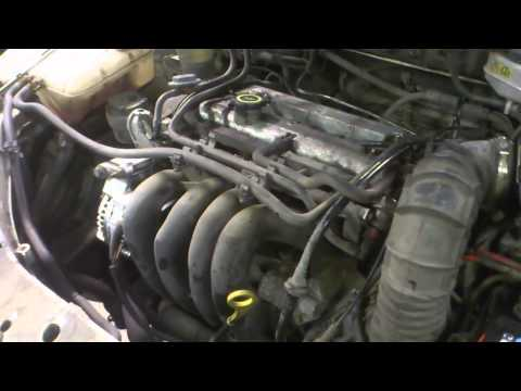 Ford Focus 1.6i 1999 Zetec horrible engine sound
