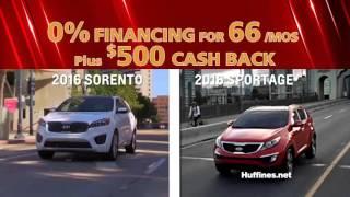 Huffines Kia Denton is Offering Huge Deals for April 2016