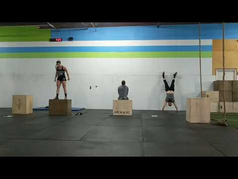 Equity Sunday Open Gym - Strict Hspu and Box Jump