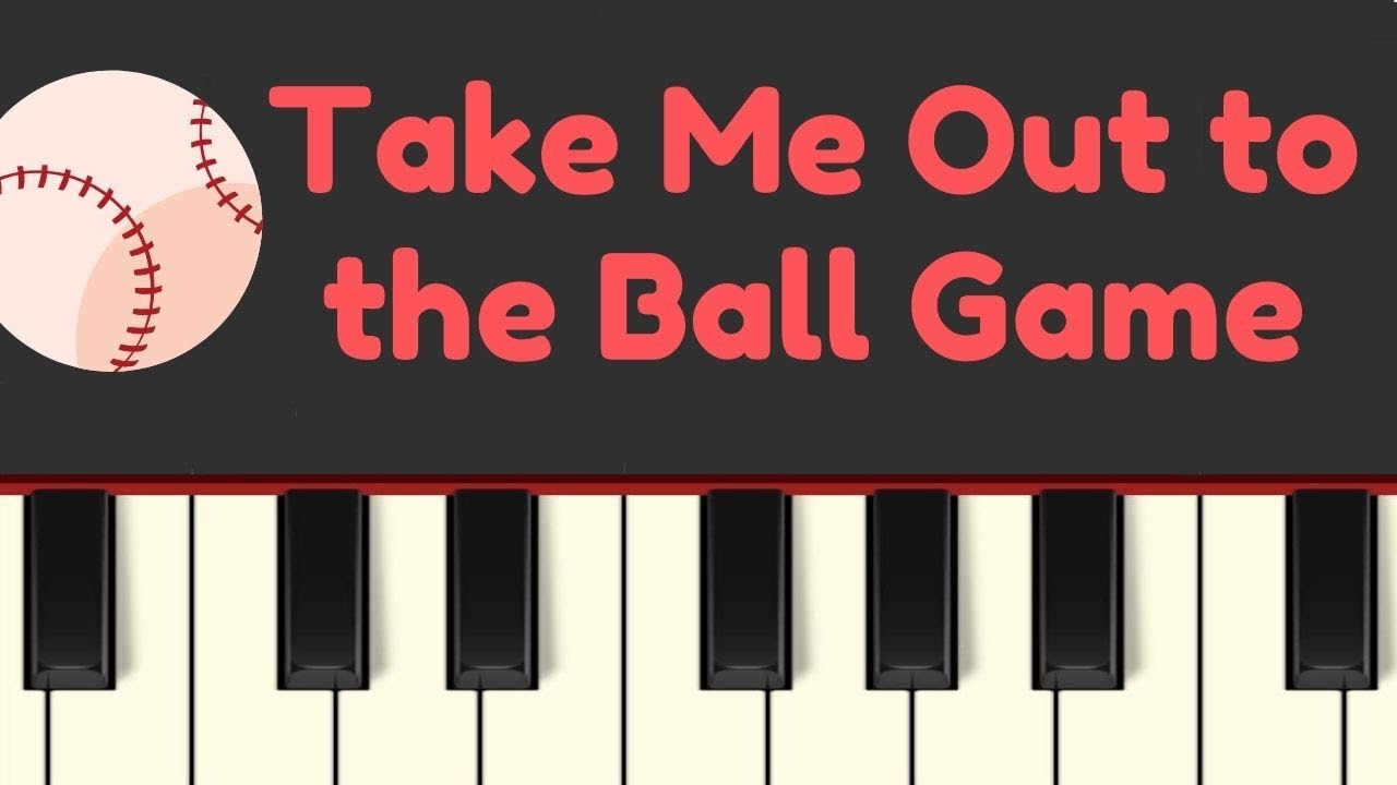 Easy Piano Tutorial: Take Me Out to the Ball Game with free sheet music