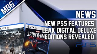 Multiple PS5 Features Leaked, PlaySтation 5 Launch Exclusives Receive Digital Deluxe Editions