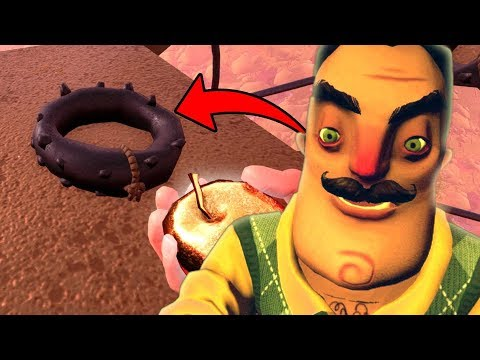 The secret on top of the windmill! | Hello Neighbor Secrets (Full Game)
