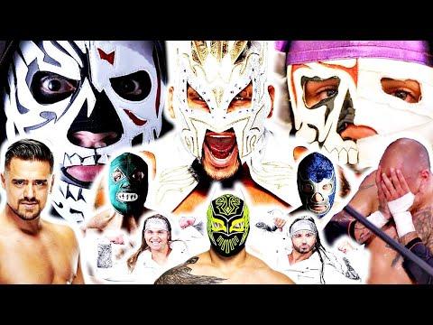KALISTO DESPEDIDO DE WWE,FENIX SIN MASCARA,LA PARK JR JUNTO A LA PARKA JR,SIN CARA Y AEW,GARZA HABLA