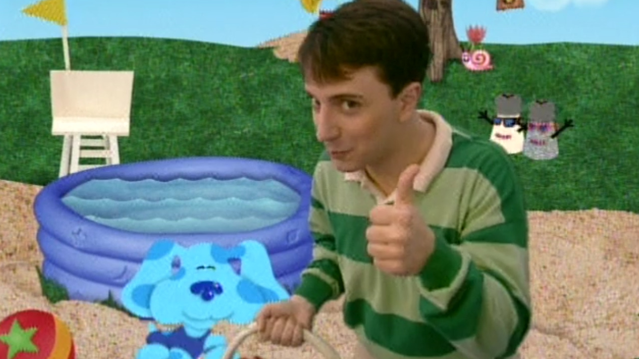 Blue 39 s clues blues goes to the beach youtube - Pool and blues ...