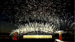 Bridge Over Troubled Water - Dami Im  ShowSim 3D Sydney Harbour Bridge