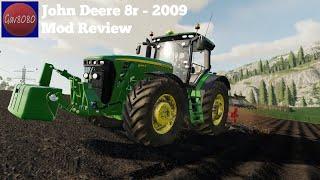 "[""FS19 8345r"", ""fs19 john deere"", ""farming simulator 19"", ""fs19 mod review"", ""gav8080""]"
