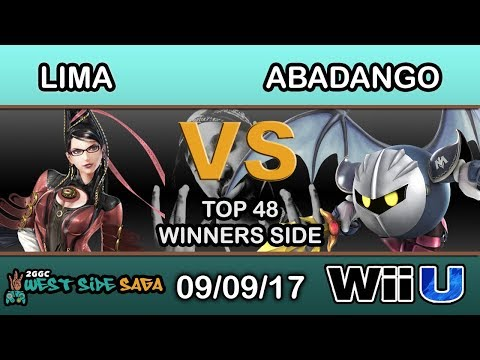 2GGC: West Side Saga - Lima (Bayonetta) Vs. LG | Abadango (Meta Knight) - Top 48 Winners Side