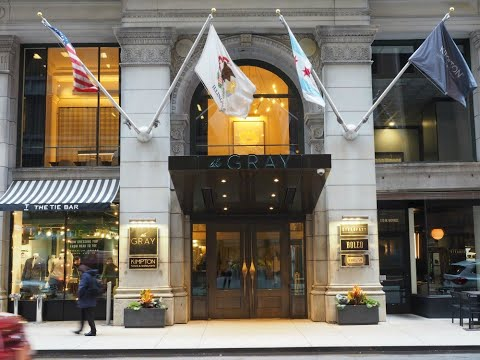 Where To Stay In Chicago - Kimpton Gray Hotel Video Walkthrough