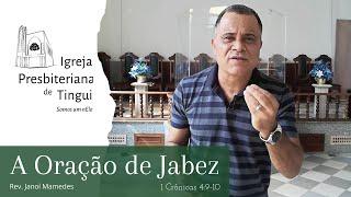 A Oração de Jabez - Minuto da Palavra - IPB Tingui - 06/7/2020