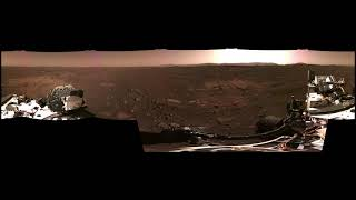 Panorama of Mars from Perseverance Rover