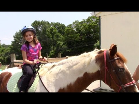 First Horseback Riding Lesson!