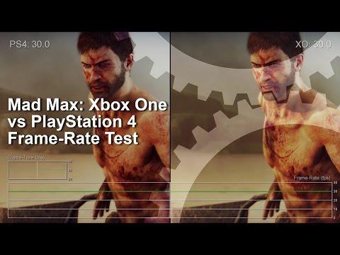Сравнение графики и частоты кадров в игре Mad Max на Xbox One и Playstation 4