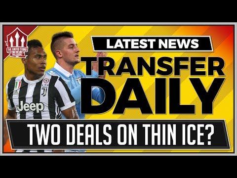 SANDRO, MILINKOVIC-SAVIC, VIDAL! Manchester United Transfer News