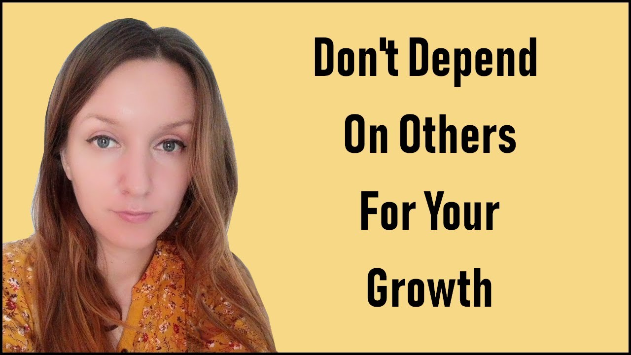 Don't Depend on Others for Your Spiritual Growth - Simona Rich