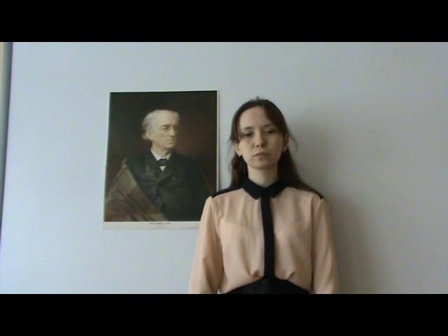 Изображение предпросмотра прочтения – ВалерияРыжевцева читает произведение «Ватиканская годовщина» Ф.И.Тютчева
