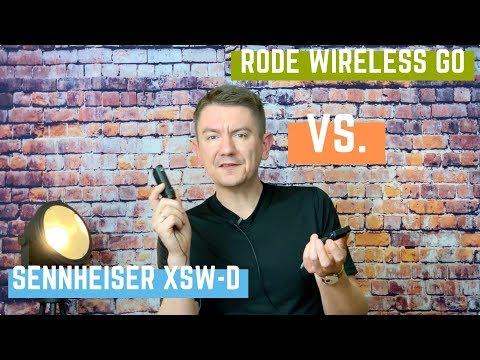 RODE Wireless Go vs. Sennheiser XSW-D Funkmikrofon Test