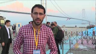 أردوغان يفتتح جسر غازي عثمان
