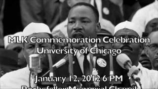 University of Chicago Martin Luther King Day Video 2012
