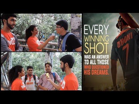 MS Dhoni The Untold Story Trailer Public...