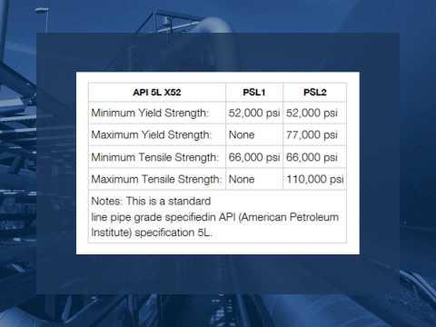Carbon Steel Standard & Line Pipe Grades