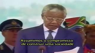 Discurso de posse de Nelson Mandela. Chegou o momento de construir
