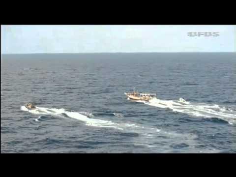 Royal Marines Capture Somali Pirates   Forces TV