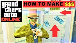 GTA 5 Online: How to make TONS of MONEY , Best BUSINESS , legal Money quick