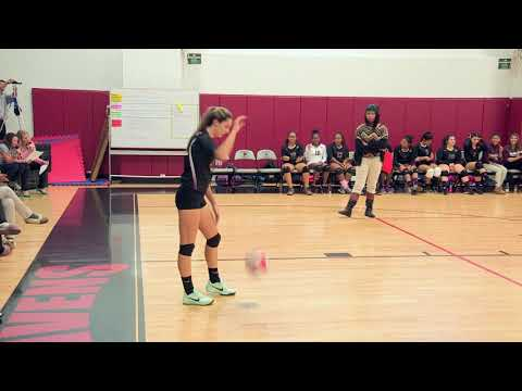 2017 CRAL Girls Volleyball Championship ASI vs AAE | Novembe