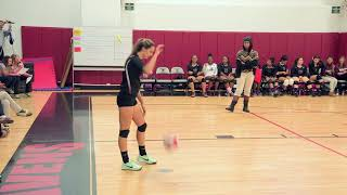 2017 CRAL Girls Volleyball Championship ASI vs AAE | November 2, 2017