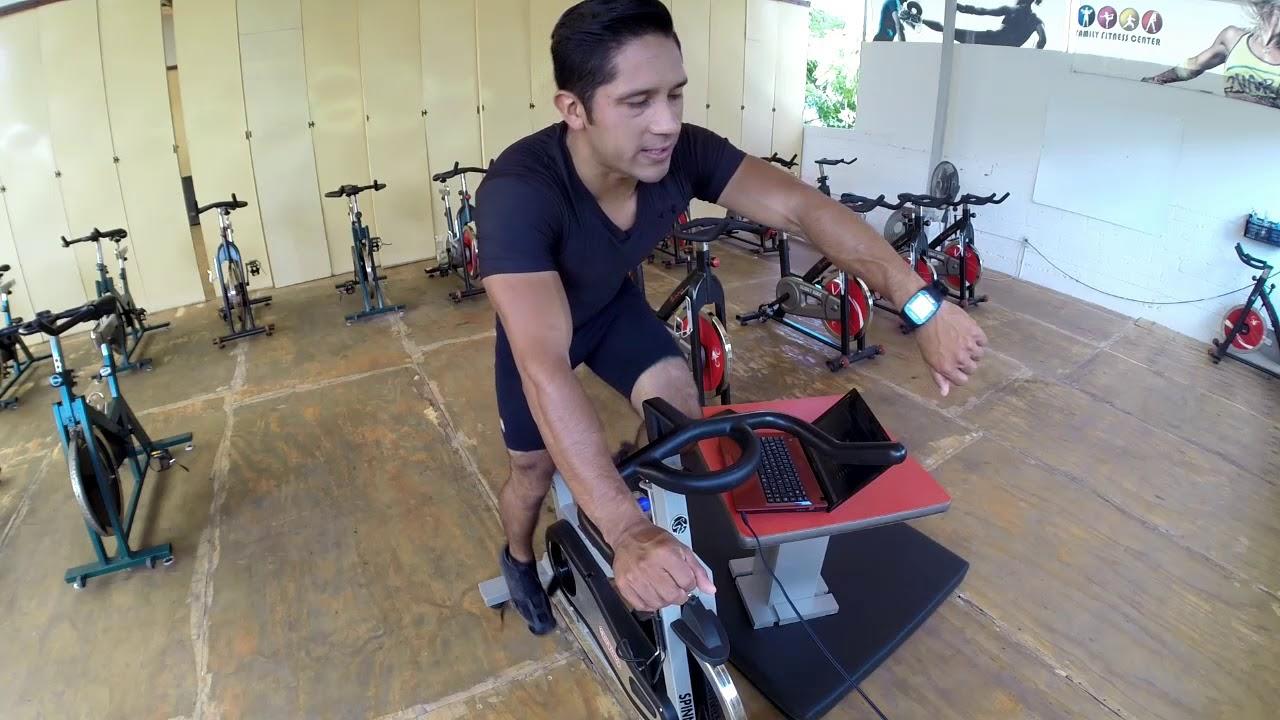 Como adelgazar las piernas con el spinning
