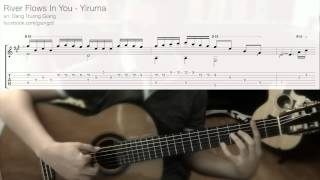 Guitar Lesson 03 - River Flows In You - Yiruma