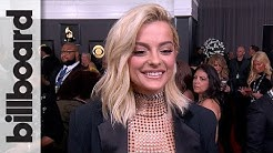 Bebe Rexha on Teaming Up with Blake Shelton on 'The Voice' | Grammys