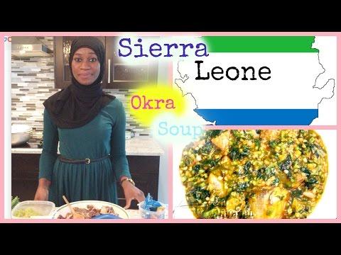 How to cook Sierra Leone Okra Soup