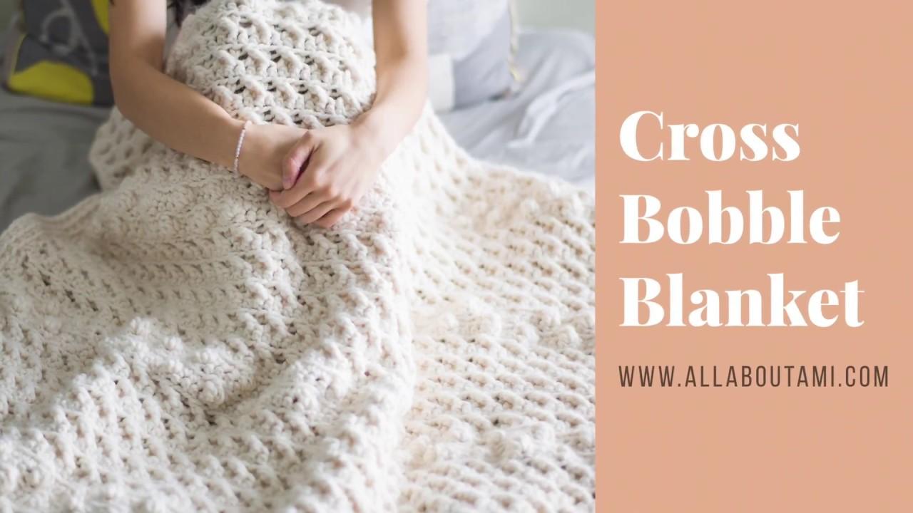 Cross bobble blanket crochet pattern youtube cross bobble blanket crochet pattern bankloansurffo Choice Image