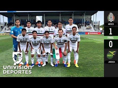 México 1-0 Jamaica - RESUMEN Y GOL - Premundial Sub-17 Concacaf