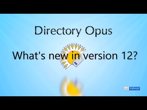 What's New in Directory Opus 12
