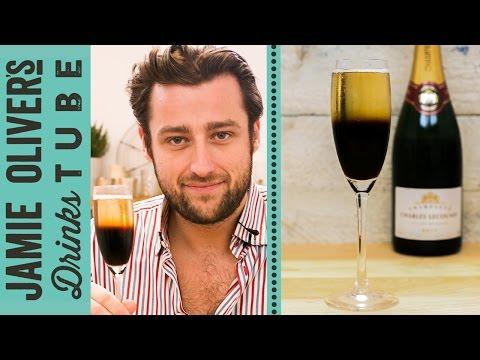 Black Velvet Champagne Cocktail | Joel Fraser