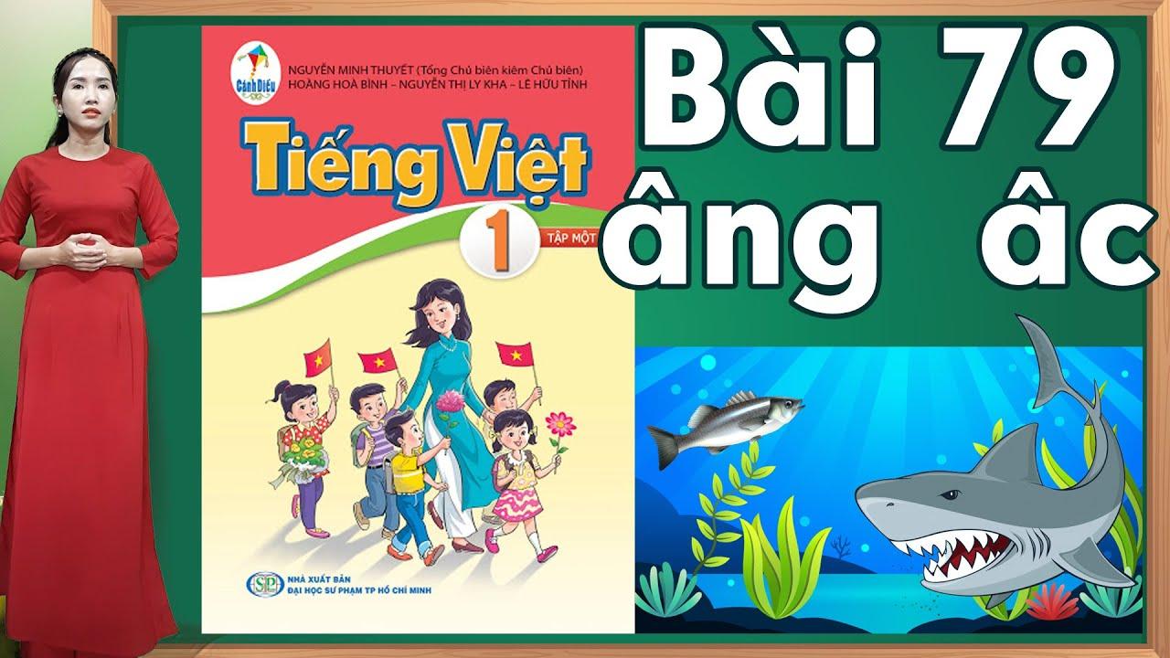 Tiếng việt lớp 1 sách cánh diều - Bài 79|Bảng chữ cái tiếng việt |learn vietnamese