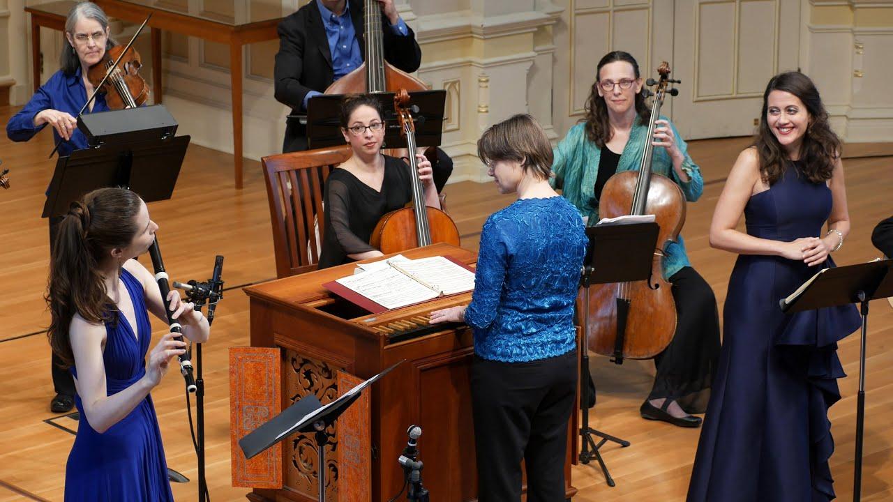 Handel: Sweet Bird (L'Allegro). Amanda Forsythe, Emi Ferguson & Voices of Music 4K