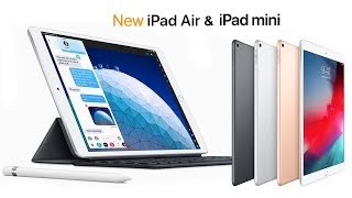 NEW iPad Air 3 & iPad 5 FIRST LOOK! Pricing, Release Date, Color, New Features & More!