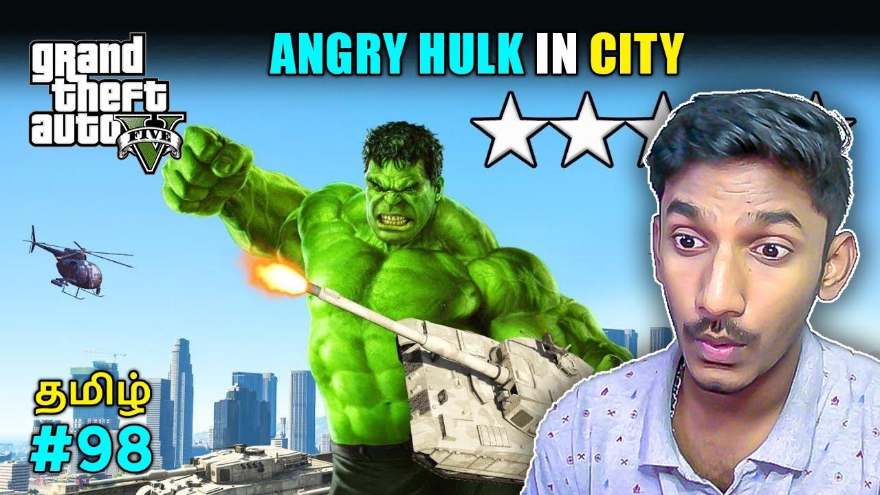 GTA 5 Tamil   Hulk mod in GTA 5   Tamil commentary   Sharp Tamil Gaming