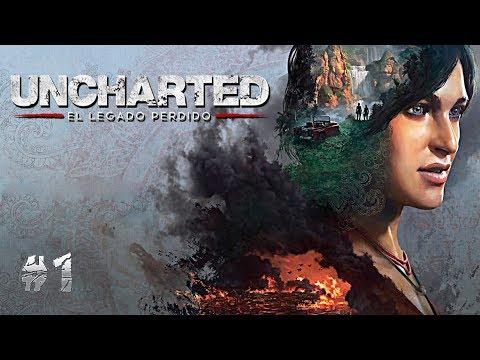UNCHARTED EL LEGADO PERDIDO #1  CHLOE FRAZER EN SU AVENTURA EN LA INDIA